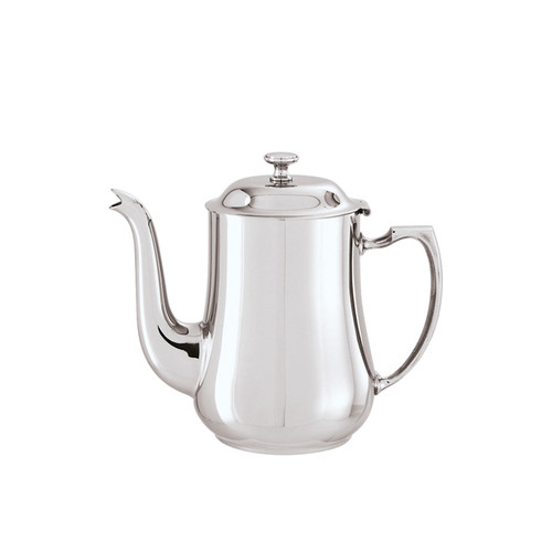 Sambonet elite coffee pot with goose neck - 18/10 stainless steel