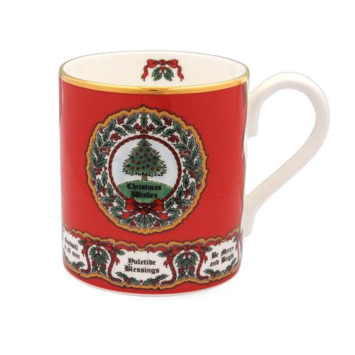 Halcyon Days Vintage Christmas Tree Mug