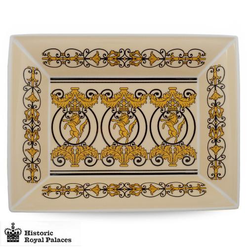 Halcyon Days Historic Royal Palaces Kensington Palace Gates Trinket Tray