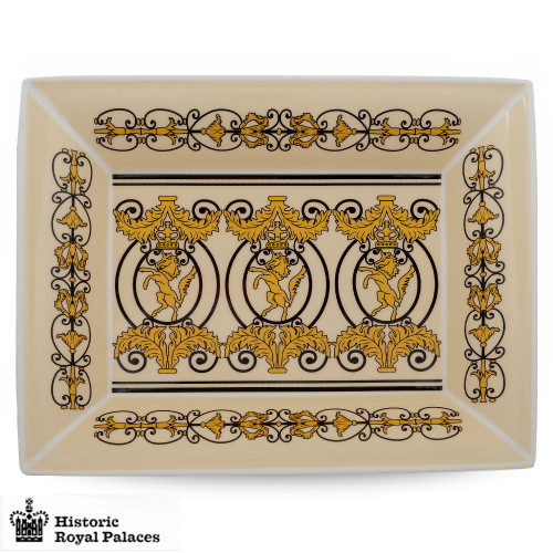 Halcyon Days Historic Royal Palaces Kensington Palace Gates Trinket Tray BCHKP05TTN