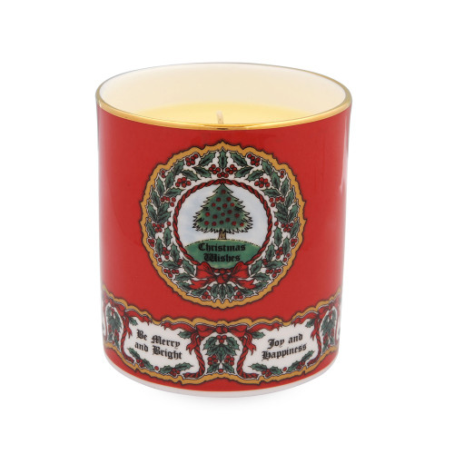 Halcyon Days Vintage Christmas Tree Candle