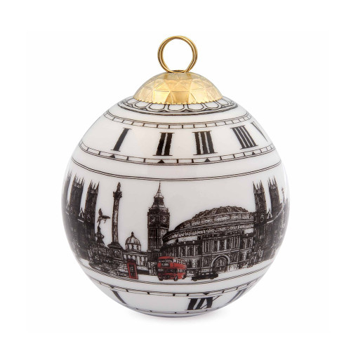 Halcyon Days London Icon Bauble Ornament