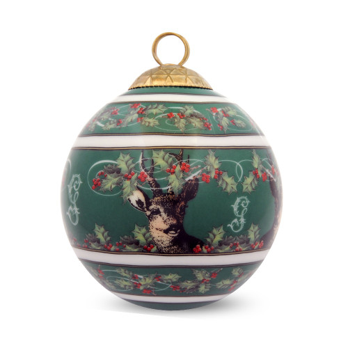 Halcyon Days Gordon Castle Christmas Bauble Ornament