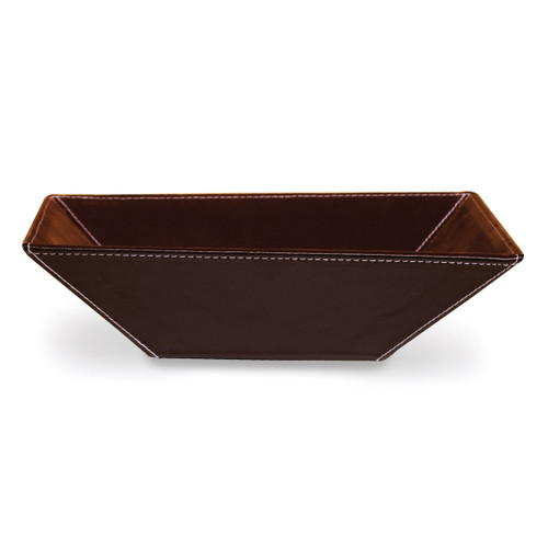 Brown PU Large Tray GP9485
