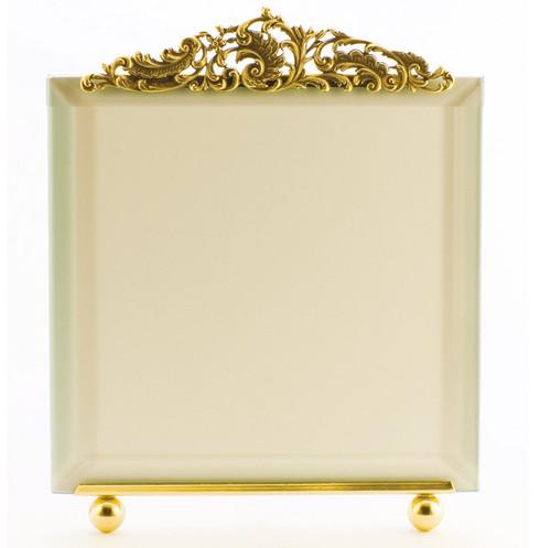 La Paris Versailles 10 x 10 Inch Brass Picture Frame