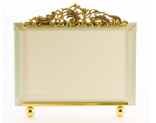 La Paris Versailles 4 x 6 Inch Brass Picture Frame - Horizontal