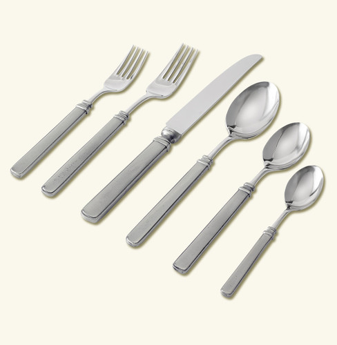 Match Pewter Gabriella 5 Piece Place Setting With Forged Knife