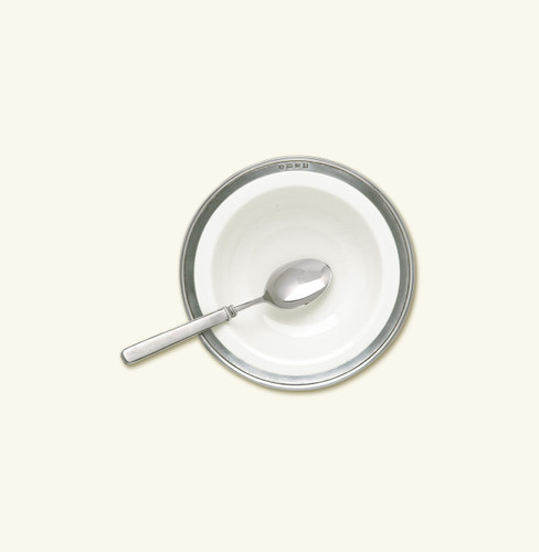 Match Pewter Convivio Cereal Bowl - White