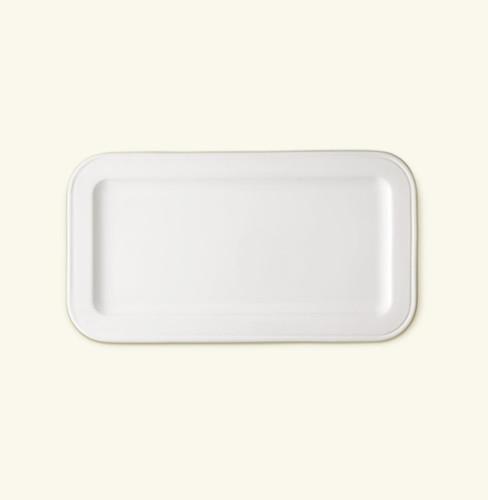 Match Pewter Convivio Ceramic Rect. Tray