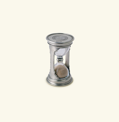 Match Pewter Round Hourglass Small 961