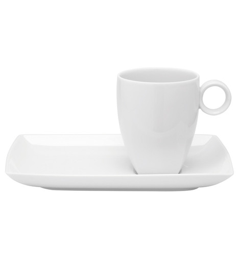Vista Alegre Carre White Tray & Mug
