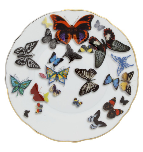 Vista Alegre Christian Lacroix Butterfly Parade Bread & Butter Plate