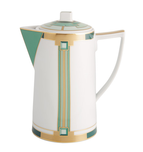 Vista Alegre Emerald Coffee Pot