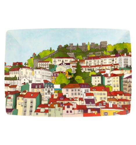 Vista Alegre Alma De Lisboa Rectangular Plate