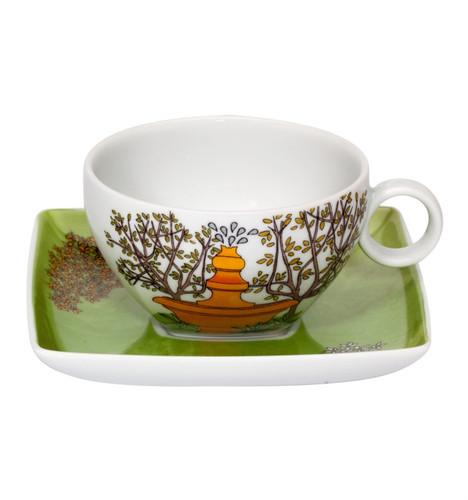 Vista Alegre Alma De Lisboa Tea Cup & Saucer