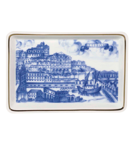 Vista Alegre Azulejos Lisboa Ashtray Portucel