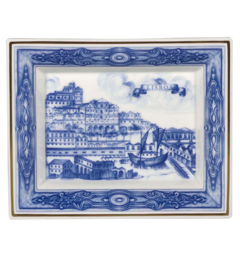 Vista Alegre Azulejos Lisboa Large Rectangular Tray