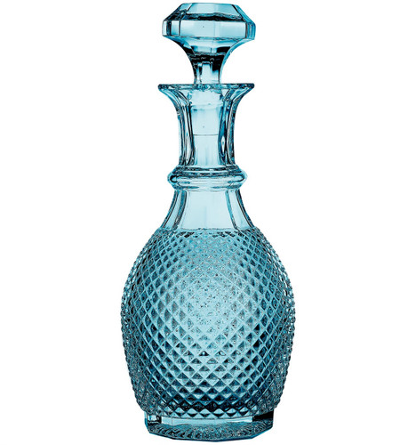 Vista Alegre Bicos Wine Decanter Blue