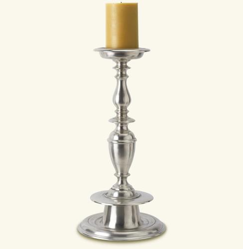 Match Pewter Gigante Pillar Candlestick a754.0