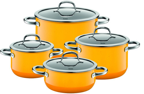Silit Passion 8-pc Cookware Set Yellow