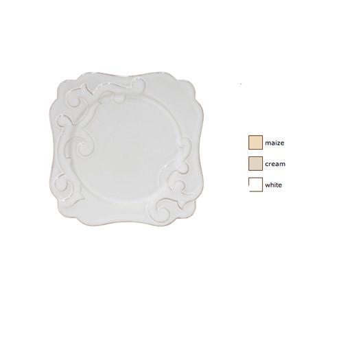 Casafina Arabesque Square Salad Plate Set of 4