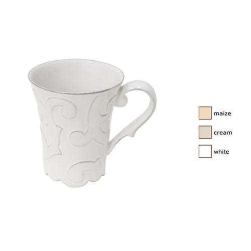 Casafina Arabesque Coffee Mug Set of 4