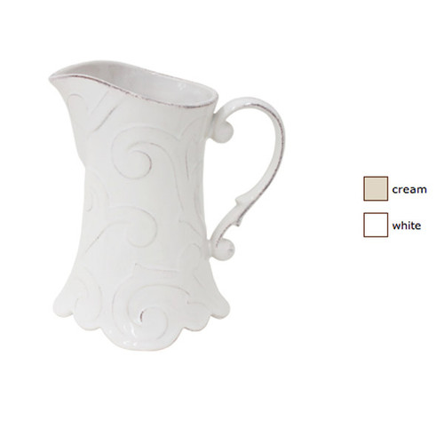 Casafina Arabesque Pitcher