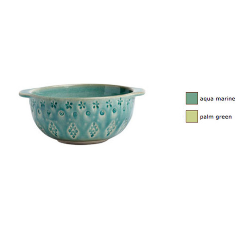 Casafina Corsica Dessert Bowl with Relief Set of 4