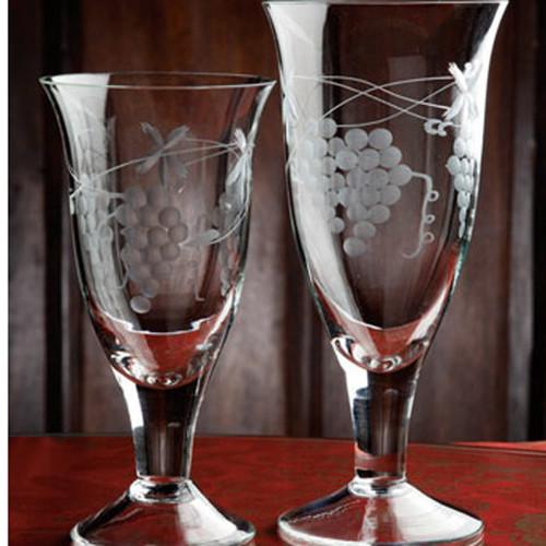 Casafina Glassware Water Stem Grapes Set of 6
