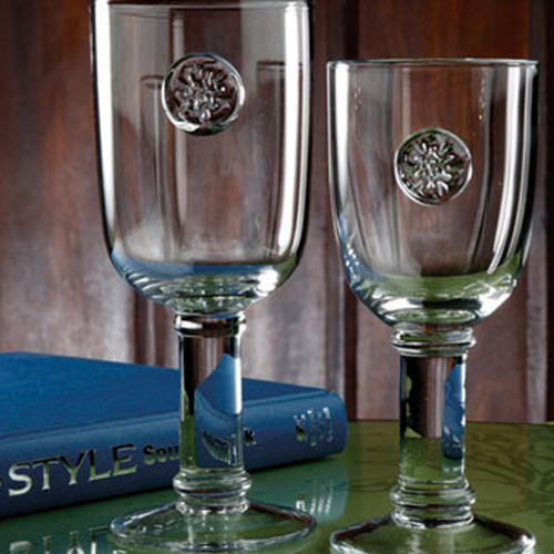 Casafina Glassware Water Stem Meridian Set of 6