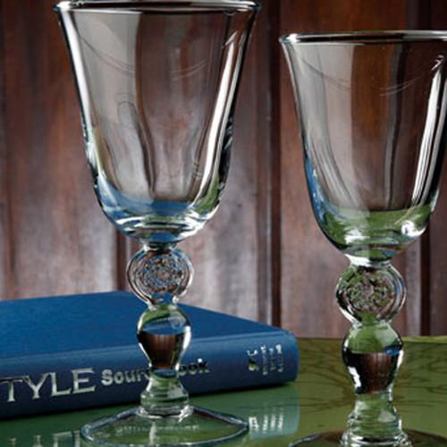 Casafina Glassware Tulip Water Stem Meridian Set of 6