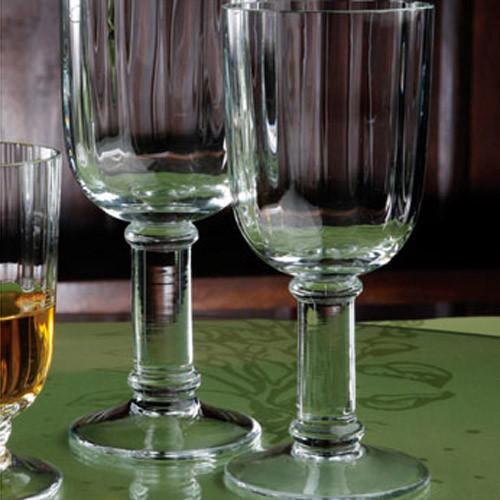 Casafina Glassware Wine Stem Straight Optic Set of 6
