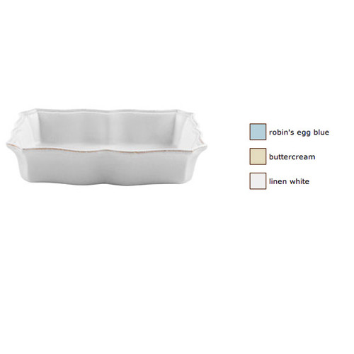 Casafina Impressions Medium Rectangular Baker
