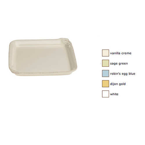 Casafina Maderia Harvest Square Tray Set of 2