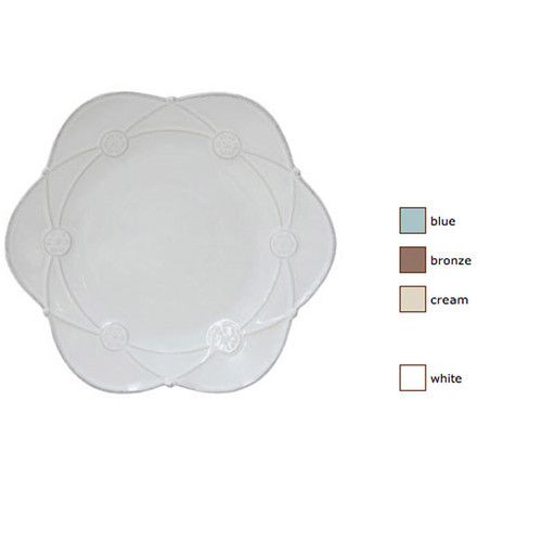 Casafina Meridian Salad Plate Decorated Set of 4