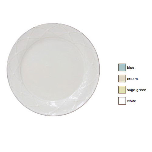 Casafina Meridian Round Salad Plate Decorated Set of 4