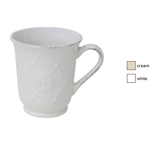 Casafina Meridian Coffee Mug Decorated Set of 4