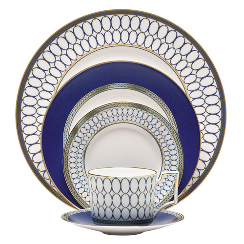 Wedgwood Renaissance Gold Five 5 Piece Place Setting