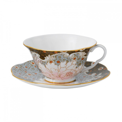 Wedgwood Daisy Tea Story Teacup and Saucer Set Blue