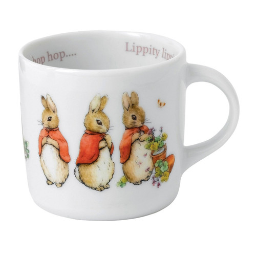 Wedgwood Peter Rabbit Girl'S Single Handled Mug
