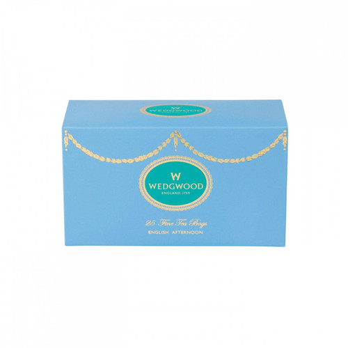 Wedgwood Everyday Luxury English Afternoon Box Of 25 Teabags