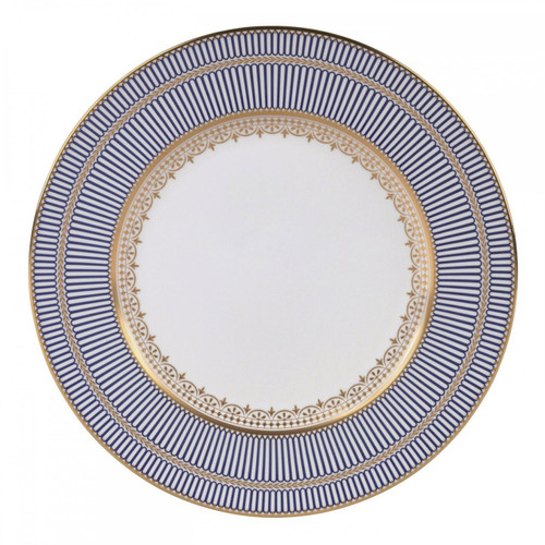 Wedgwood Anthemion Blue Dinner Plate 10.75 Inch