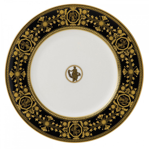 Wedgwood Astbury Black Dinner Plate 10.75 Inch
