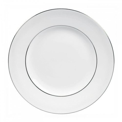 Vera Wang Blanc Sur Blanc Dinner Plate 10.75 Inch