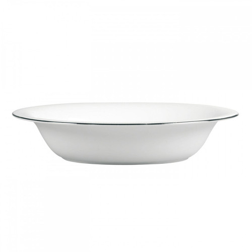 Vera Wang Blanc Sur Blanc Open Vegetable Bowl Oval 9.75 Inch