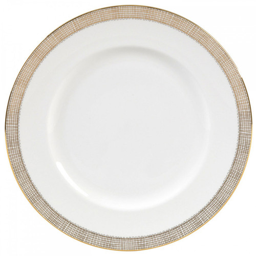 Vera Wang Gilded Weave Dinner Plate 10.75 Inch