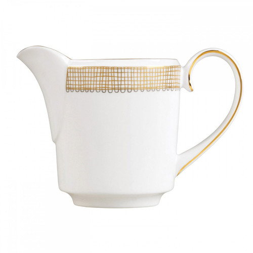 Vera Wang Gilded Weave Creamer Imperial