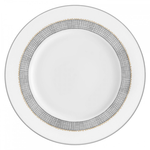 Vera Wang Gilded Weave Platinum Salad Plate 8 Inch