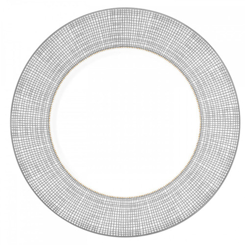 Vera Wang Gilded Weave Platinum Accent Salad Plate 9 Inch