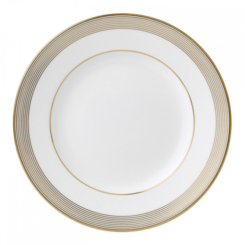 Vera Wang Golden Grosgrain Salad Plate 8 Inch